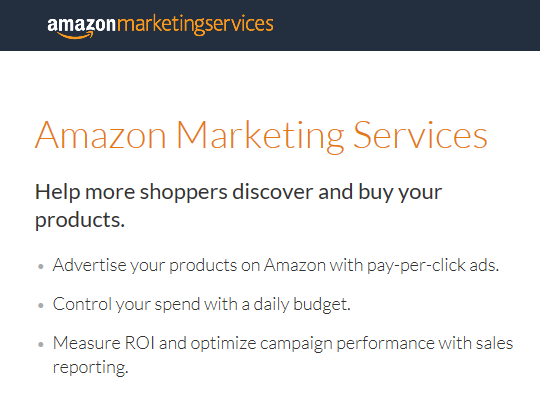 Amazon Marketing Services